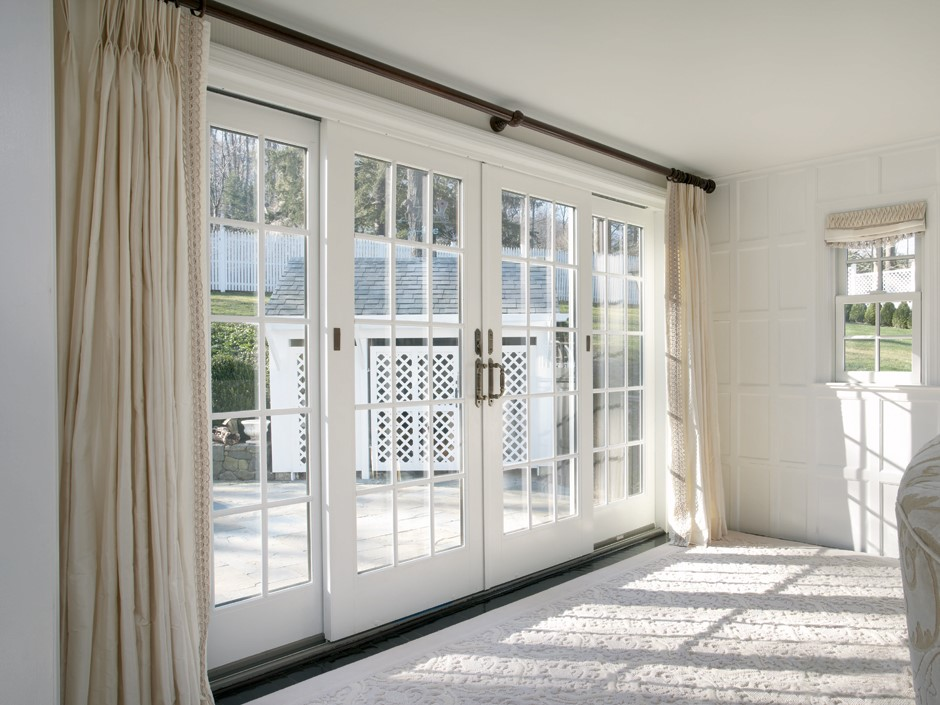 Traditional French Gliding Replacement Patio Doors Renewal By