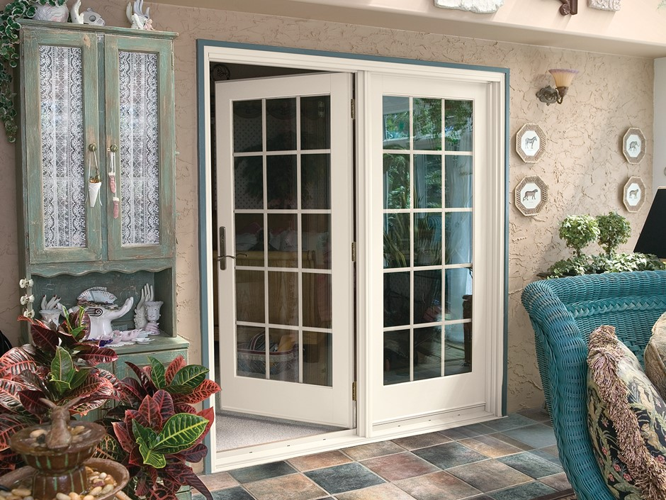 Hinged french replacement doors renewal by andersen for Replacement french doors